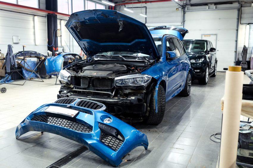 ремонт автомобиля bmw